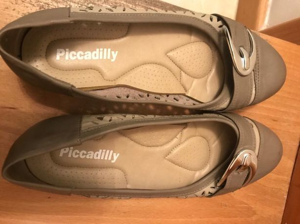 Sapatos Piccadilly verde seco