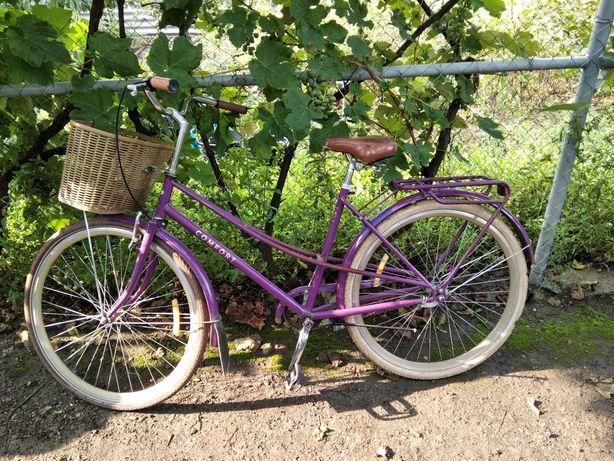 """Велосипед 28"""" Dorozhnik COMFORT FEMALE фиолетовый"""
