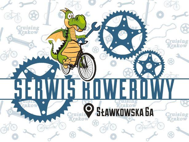 Cruising Krakow • Serwis rowerowy Kraków • Naprawa Roweru • Centrum