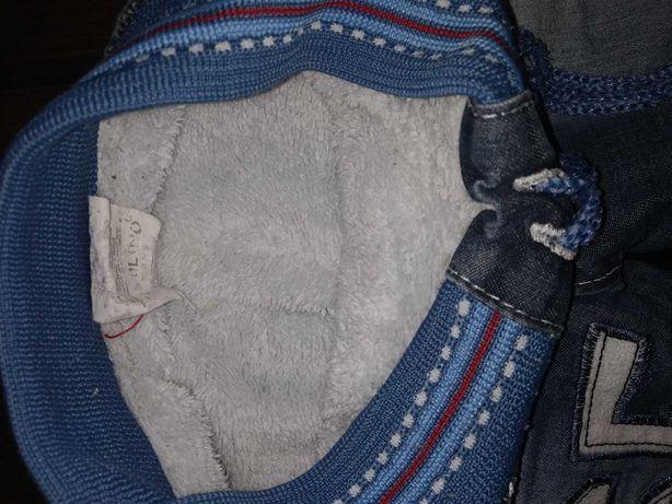 Утеплённые джинсы 18-24 месяца