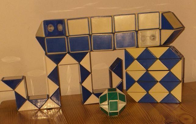 Wąż Rubika 3szt. Stan: bdb, db, sprawny