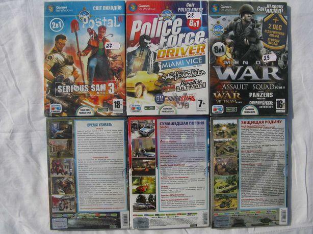 №2  Распродажа новые запечатаные лицензионные диски DVD Игры