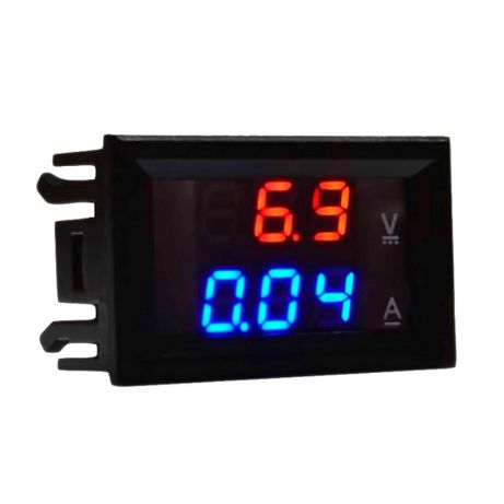 Цифровой амперметр\вольтметр 0-10А\0-100В DSN-VC288