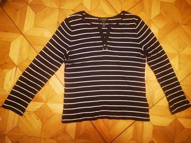 Bluzka damska Ralph Lauren, w paski