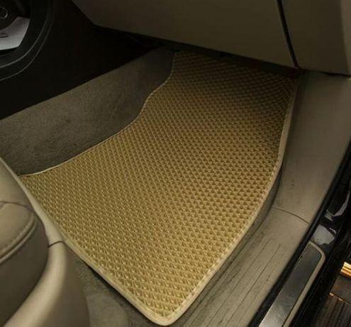 EVA коврики форд фиеста фокус фьюжен куга мондео+подпятник в подарок