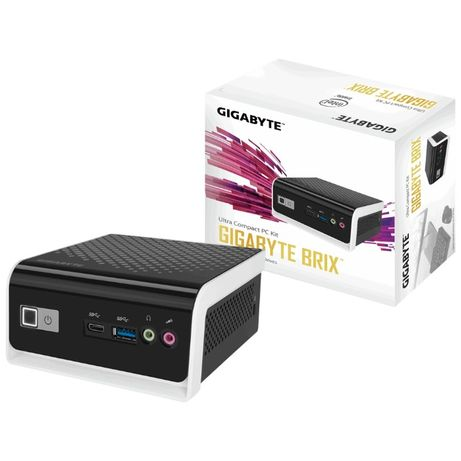 Barebone-неттоп GIGABYTE Brix BLCE-4105C +240Гб SSD +RAM