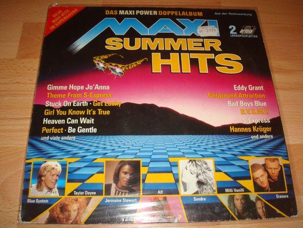 Płyty winylowe składanka Maxi Summer Hits lata 88 2lp