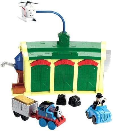 Звуковой набор Томас на станции Fisher-Price Фишер Прайс