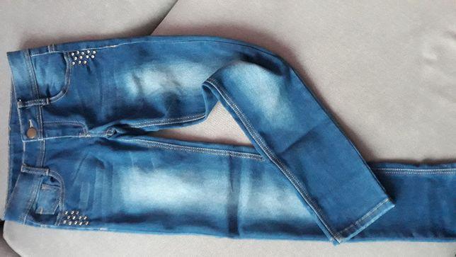 Spodnie jeansowe S - jak NOWE!