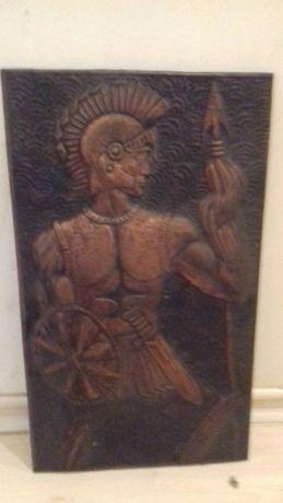 Объемная картина из бронзы,Ссср