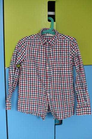 koszula dla chłopca 128 w kratę elegancka