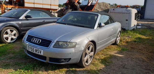 Audi A4 B6 Cabrio 2.5 TDI. 163KM. BDG. LY7J. Anglik ! Polecam !