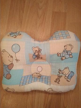 Подушка ортопедическая (бабочка) для новорождённых. ОРТЕКС