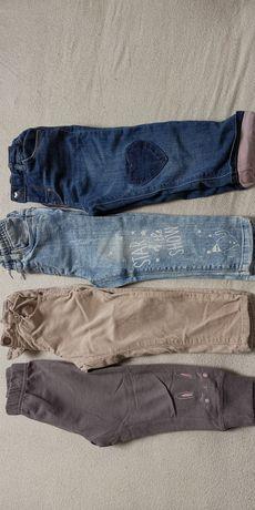 Spodnie dla dziewczynki H&M, Cool Club i inne