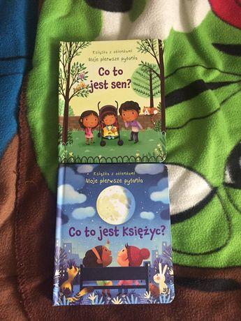 Co to jest sen? Co to jest księżyc ? - książki z otwieranymi okienkami