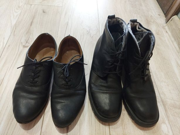 Віддам шкіряне взуття 38 розмір