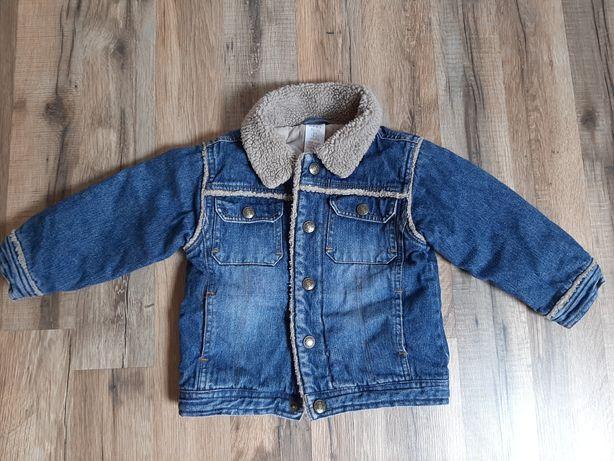 Дитяча джинсовка утеплена