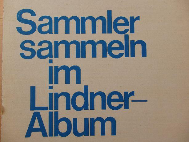 Znaczki Niemieckie Lindner Album