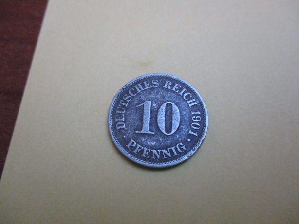 10 pfening z roku 1901