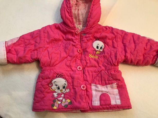 Костюм зимний р.80, полукомбинезон и курточка зимняя на 1 годик
