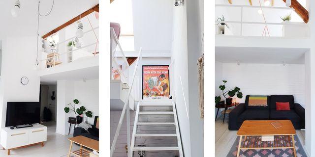 Loft 2-poziomowy, 3 Pokoje, Garderoba, Balkon, Klimatyzacja