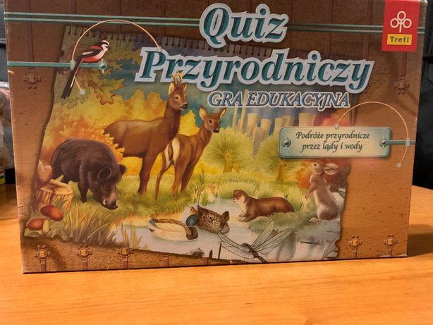 Gra planszowa - Quiz przyrodniczy