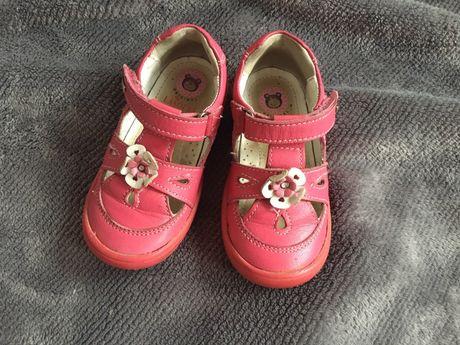 Buciki buty skórzane sandałki rozmiar 22 Lasocki Kids