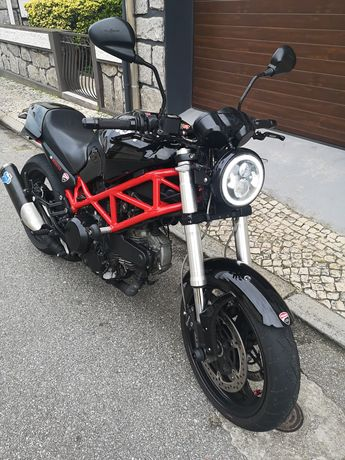 Ducati Monster 695 - carta A2