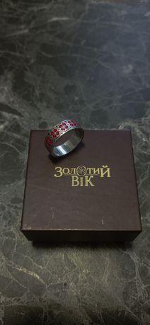 """Серебрянное кольцо """"Ружа""""от""""Золотий вік"""""""