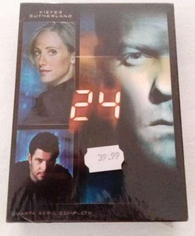 24 horas em DVD 4º serie completa por estrear