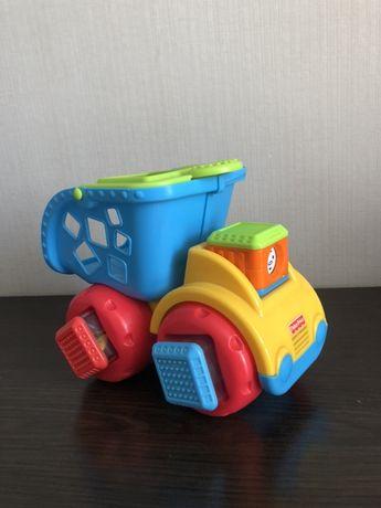 Fisher Price музыкальная машинка грузовик игрушка