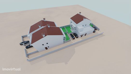 Moradia T4 em construção Massamá