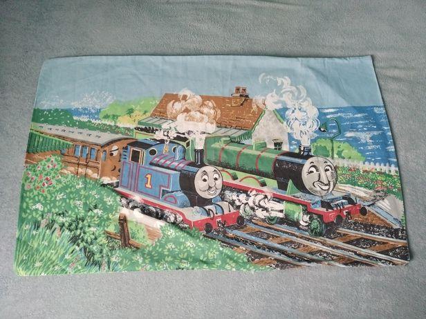 Poszwa na poduszkę Tomek i przyjaciele ciuchcia pociąg 75x47 cm