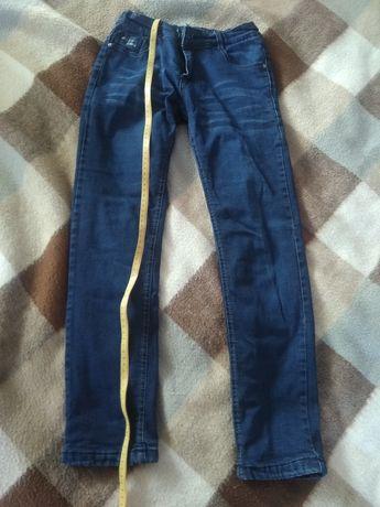 джинсы теплые зимние 146-152