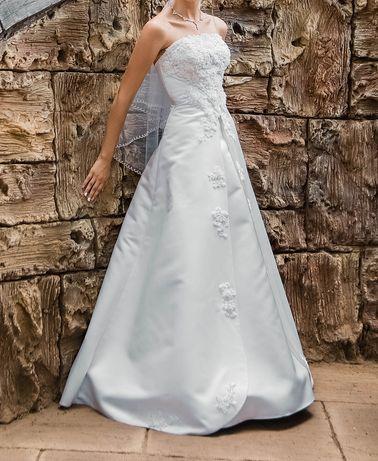 Очень нежное свадебное платье