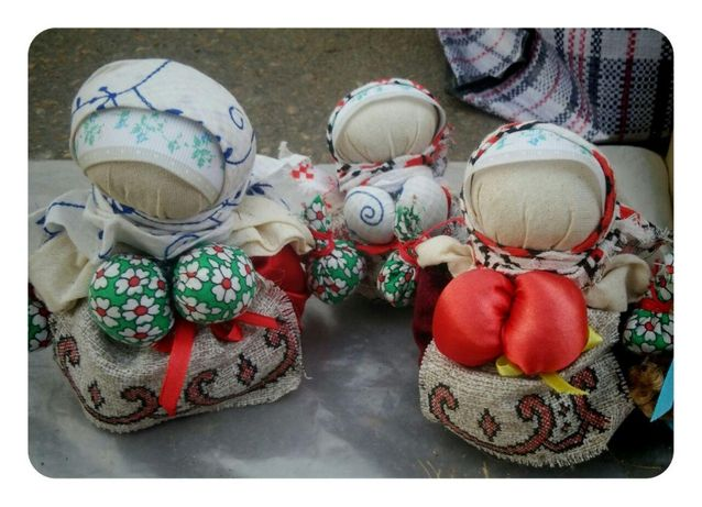 Сувенир, мотанка, кукла-травница, хендмейд подарок