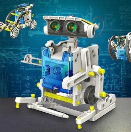 Робот на солнечных батареях Solar Robot 14-1 Конструктор развивающий