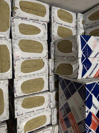 Продаю  Базальтовую вату технофас эффект 150мм толщина 135 плотность