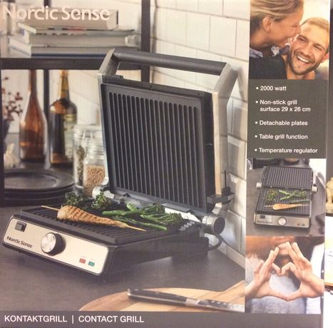 Grill stołowy duńskiej firmy F&H of Scandinavia - Nordic Sense