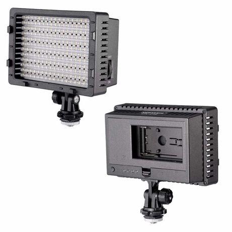 Painel LED 160 led Led Neewer Projector hotshoe sapata portátil pilhas