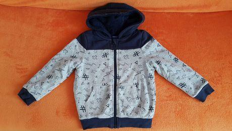 Bluza z futerkiem 110-116 cm
