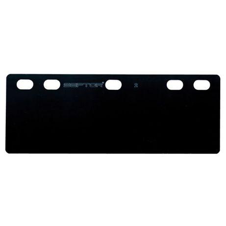 SEPTOR 3 – Płyta przepędowo-sortująca – czarna 85×200 cm