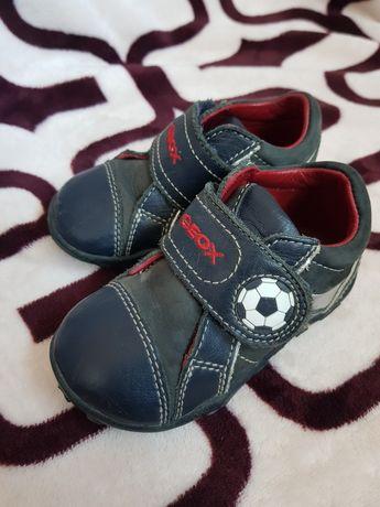Кожаные Ботинки кроссовки Geox стелька 13см