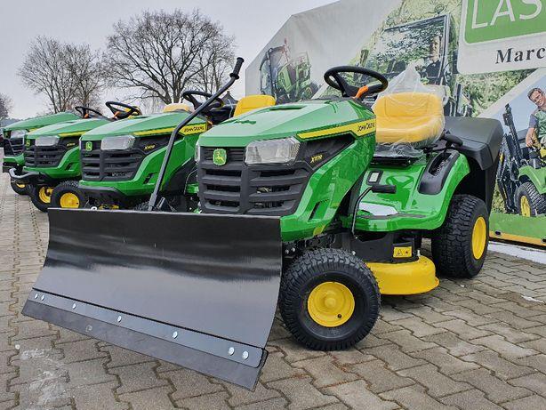 """""""Marcinkowscy"""" Traktor kosiarka John Deere X117R Premiera 2021"""