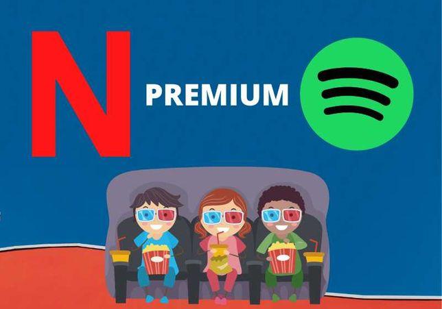 Netflix 30-90 |Spotify|XBOX| ELEVEN | KONTA PREMIUM najtańsze AUTOMAT