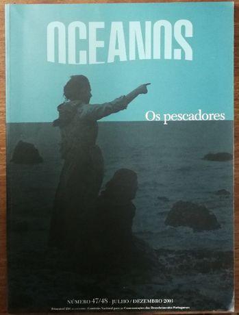 revista oceanos, os pescadores , julho dezembro 2001