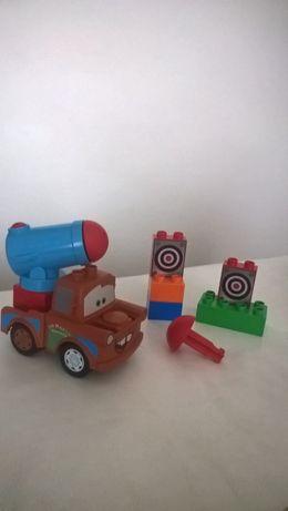 Лего/Lego Duplo Тачки 2 МакКвин 5813 і Агент Метр 5817 Оригінал
