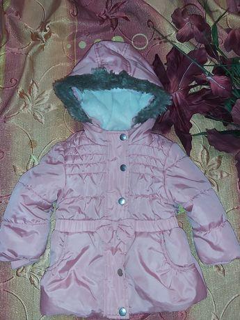 Демисезонная куртка для девочки F&F. Осень весна