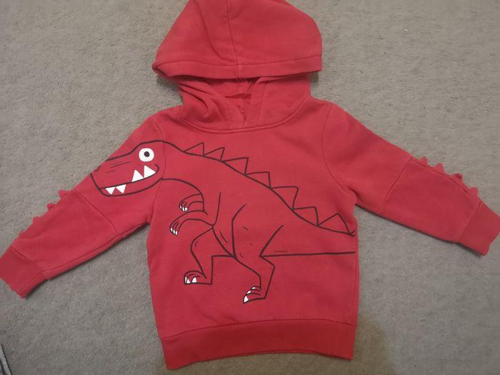 Bluza dinozaur czerwona Katowice - image 1