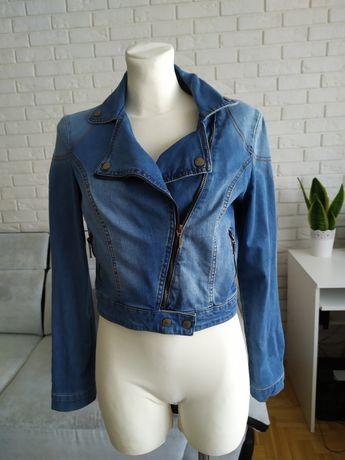 Ramoneska jeansowa xs mango